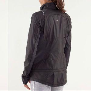 Lululemon nothing but run jacket